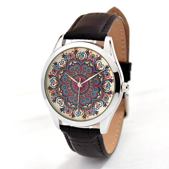 2018 New 100pcs/Lot FashionWomen's Watch With Flower Pattern