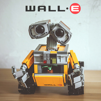 Lepin 16003 687pcs Genuine Idea Robot WALL E Educational Building Set Kits Bricks Blocks Bringuedos Compatitable