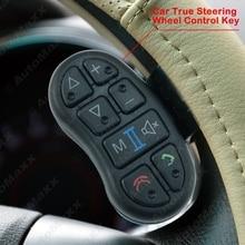 Volante del coche Universal de Control de Botón de la Llave Speicial Para Android de DVD Del Coche/Reproductor de Navegación GPS Bluetooth Teléfono J-4252