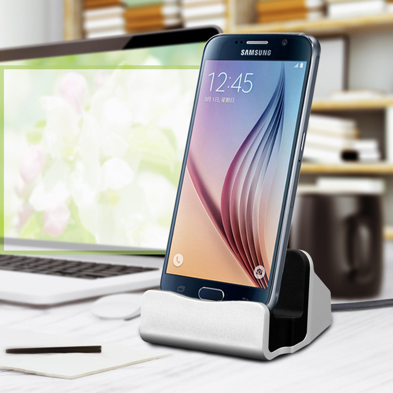 Fast Charging Dock <font><b>Charger</b></font> for <font><b>Samsung</b></font> Galaxy J3 J5 J7 A5 <font><b>A3</b></font> A7 2016 2017 J4 J6 A8 A6 J8 A9 2018 S8 S9 Plus S7 S6 edge Holder image