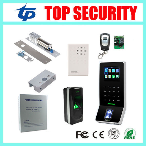 Biometric fingerprint access control ZK F22 fingerprint reader FR1200 fingerprint access reader with WIFI TCP/IP f807 biometric fingerprint access control fingerprint reader password tcp ip software door access control terminal with 12 month