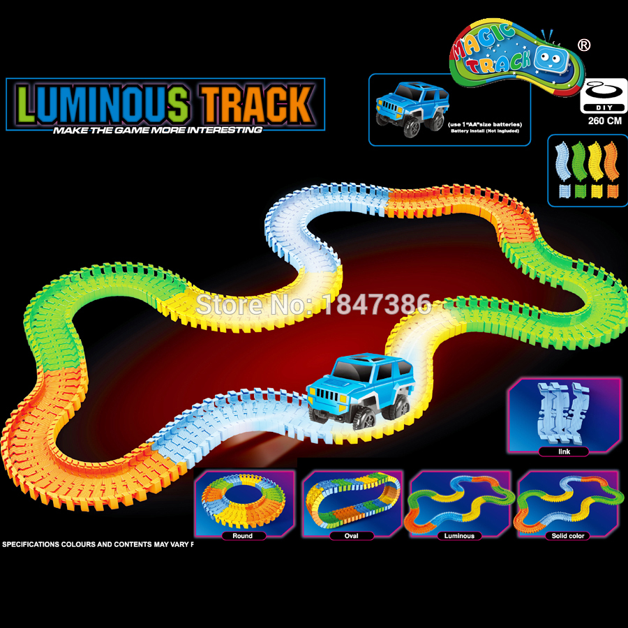 100 Piezas 1000 Pzas Slot Diy Glow Race Track Set Bend Flex Glows En La Oscuridad Luz Luminosa De La Pista Juguetes Educativos Del Rompecabezas Del Coche De Carreras Amplia Oferta Y Pronta Entrega