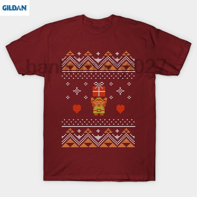 GILDAN Zelda Christmas Sweater T Shirt