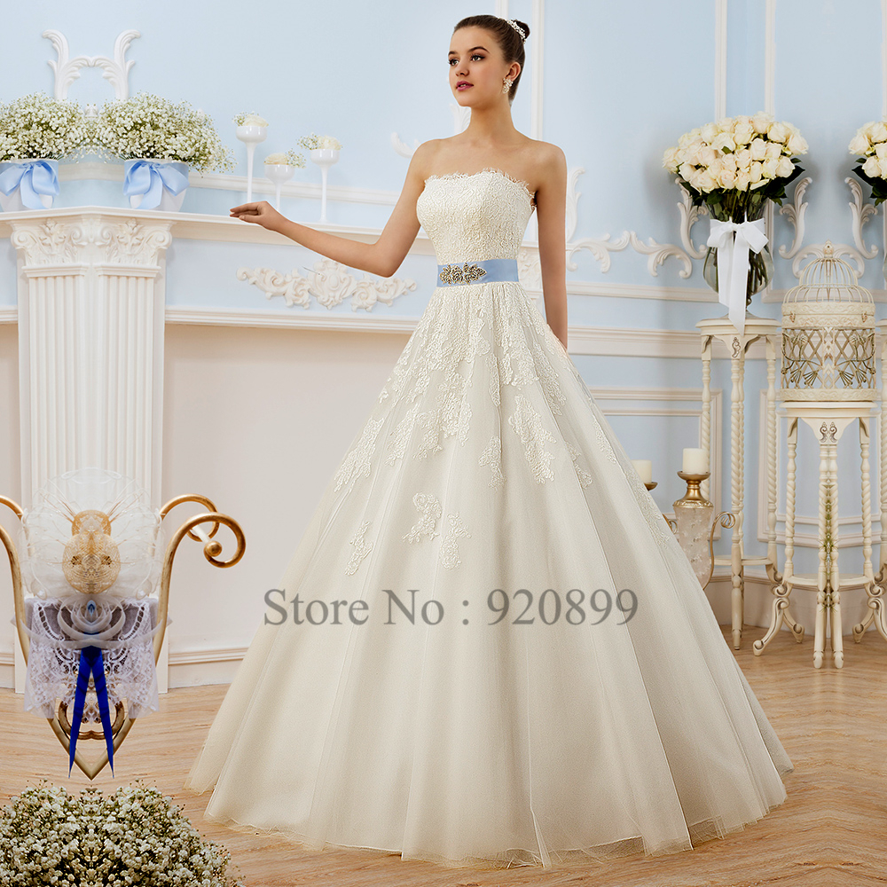 Compare Prices on White Blue Wedding Dresses- Online Shopping/Buy ...