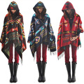 Ethnic Women Cloak Cape Parkas BOHO  Oversized Long Scarf
