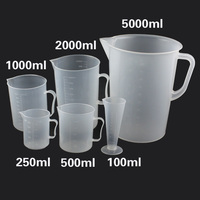 Plastic measuring cup tools scale cup liquid measuring spoon 500ml 200ml 100ml