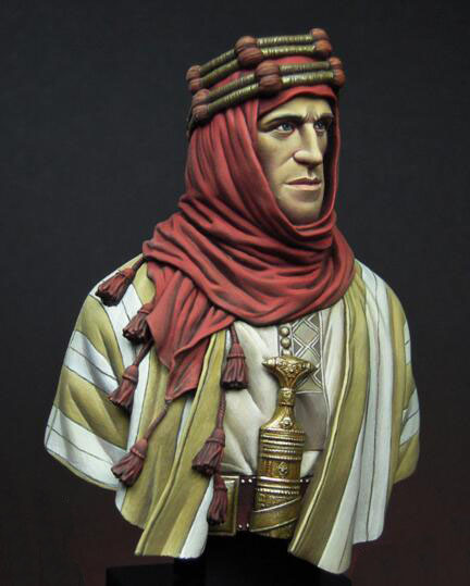 1/12 Resin Bust Arab Man Not Assembled Uncolored