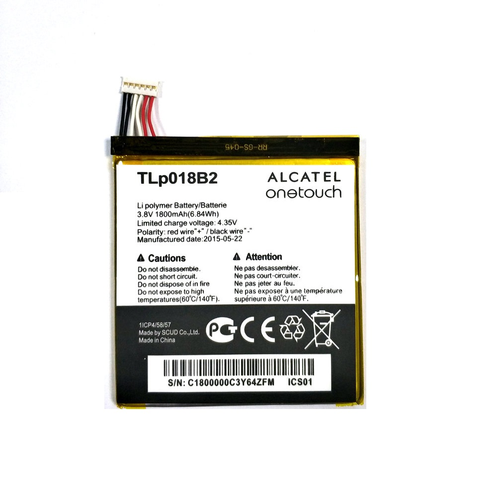 1800mAh  Replacement Battery For Alcatel One Touch Idol OT 6030 6030d 6030X 6030A smart phone Bateria Baterij
