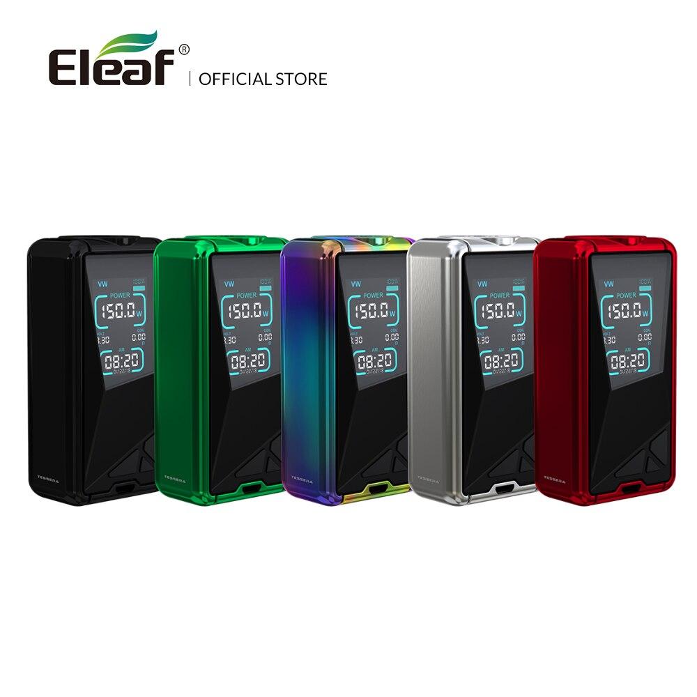 Originale Sigaretta Elettronica Mod box Eleaf Tessera TC Scatola MOD con 3400 mah built-in batteria 150 w max fit ELLO TS Atomizzatore
