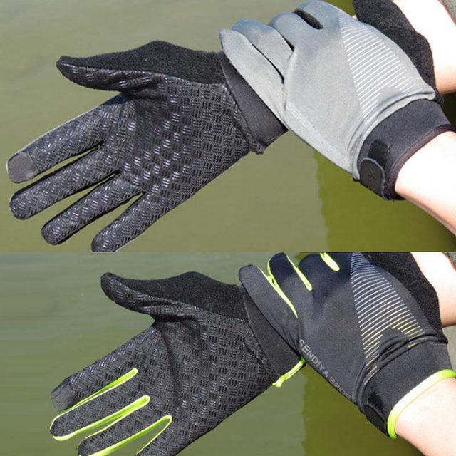 Recente 1 par de bicicleta luvas de dedo cheio touchscreen luvas mtb respirável verão luvas leve equitação glov 6