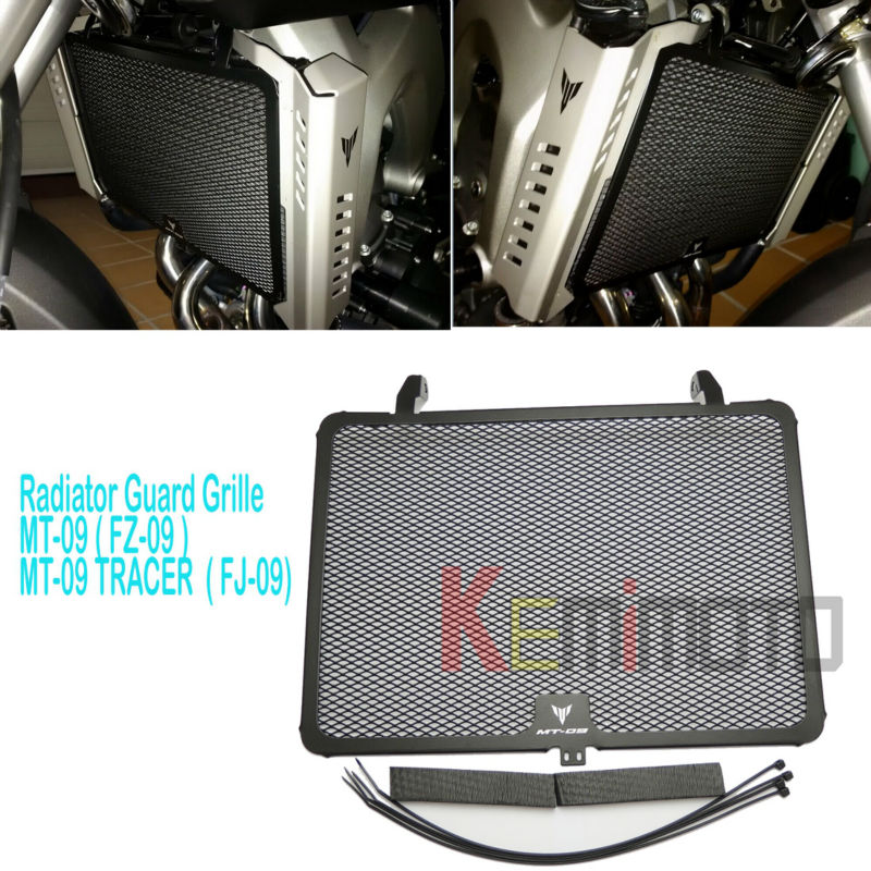 MT09 FZ09 Radiator Guard Grill Grille Cover for YAMAHA MT-09 FZ-09 MT 09 FZ 09 2014 2015 2016 2017 MT09 2017 XSR900 700 2016 motorcycle radiator grill grille guard screen cover protector tank water black for bmw f800r 2009 2010 2011 2012 2013 2014