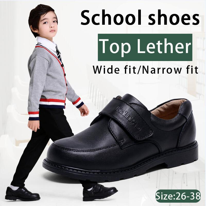 Kalupao Children Shoes Boys School Uniforms Shoe Casual Boys Dress Shoes Oxfords Wide Fit Narrow F