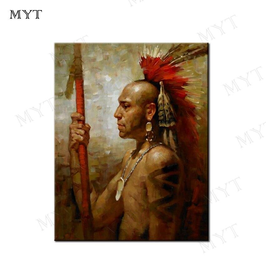 MYT livraison gratuite nouveauté Figure peinture à l'huile toile mur Art décor à la maison photos peinture murale Art pas de cadre peinture à l'huile