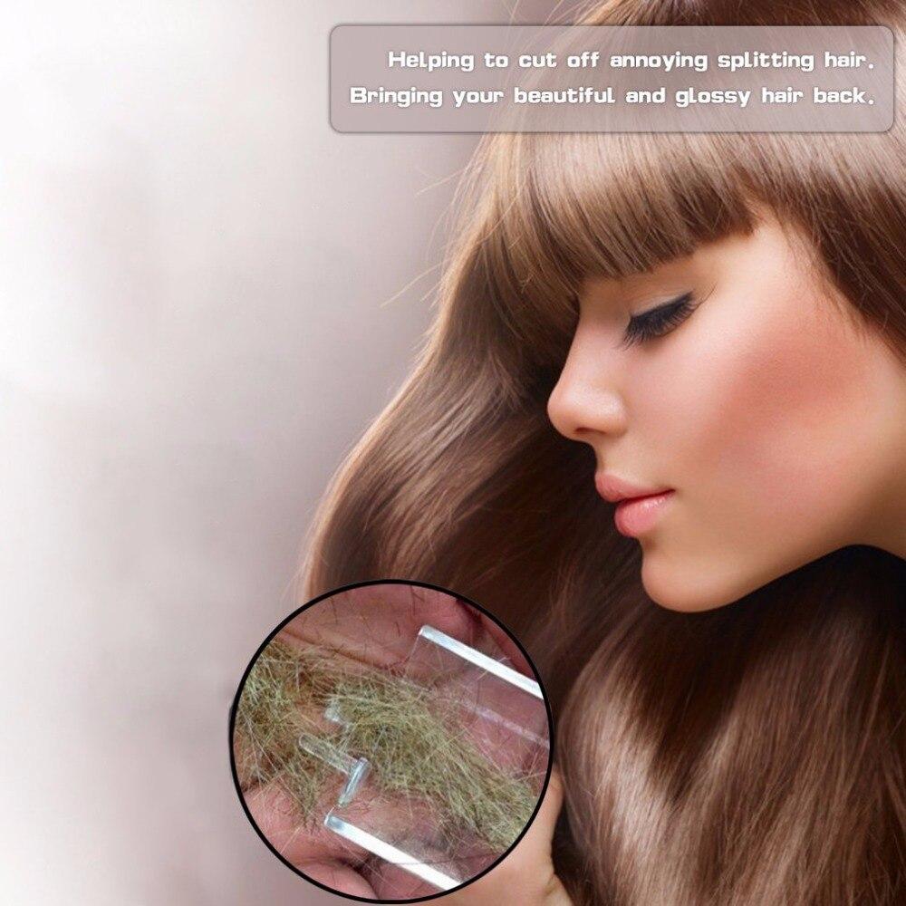 Spaltung Haar Cutter Razor Haar Schönheit Gerät Salon USB Aufladbare Kleine Geschenk Box Pack (Ohne batterie) dropshipping