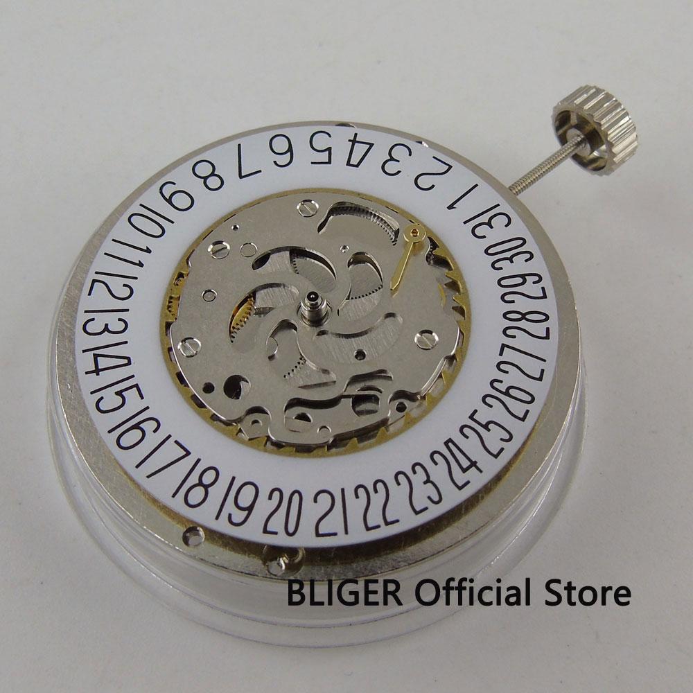 Hangzhou 2C30 Mechanical Automatic movement Power reserve date indicator BM16 все цены