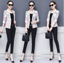 THYY font b 2018 b font Plaid Full Spring Autumn Coat Blazer Women font b Suit
