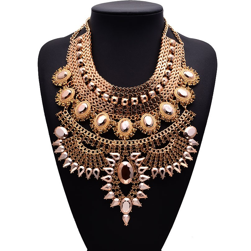 HTB1KEsRaULrK1Rjy0Fjq6zYXFXaR - Miwens Collar Za Necklaces Pendants Vintage Crystal Maxi Choker Statement Silver Color Collier Necklace Boho Women Jewelry
