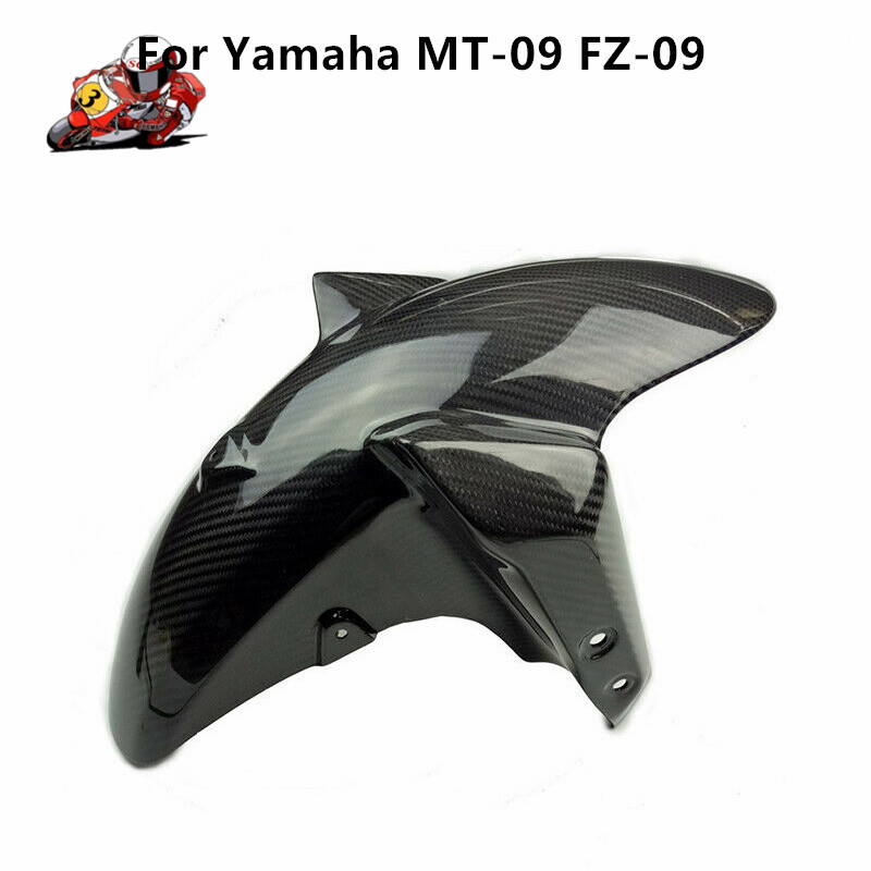 MTImport For Yamaha MT-09 MT09 MT 09 FZ 09 2014-2016 Motorcycle 100% Real Carbon Fiber Front Fender Cover Mud Mask Brand NewMTImport For Yamaha MT-09 MT09 MT 09 FZ 09 2014-2016 Motorcycle 100% Real Carbon Fiber Front Fender Cover Mud Mask Brand New