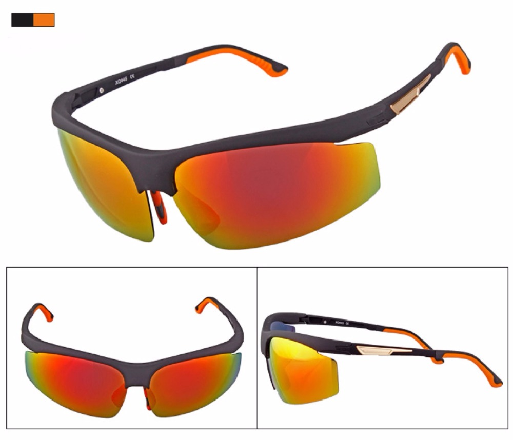 XQHD Polarized Sports Sunglasses,with Adjustable Nose Pad & Temple ...