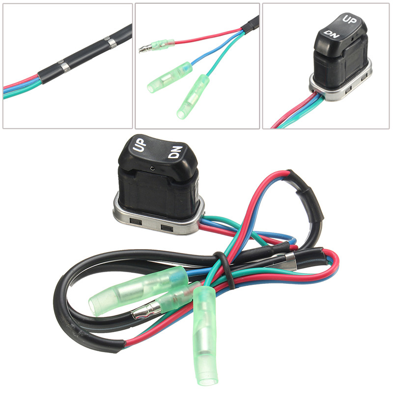Replacement Trim And Tilt Switch Part For Yamah Outboard Motor Remote Controller Switch