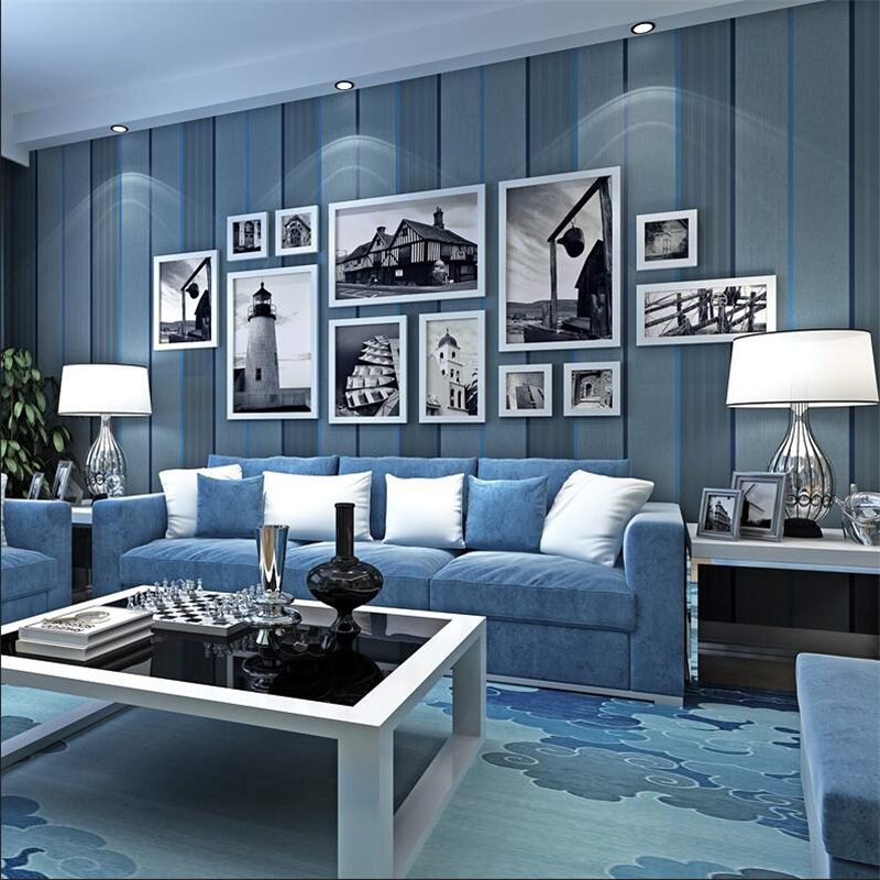 New high end wallpaper Simple striped environmentally ...