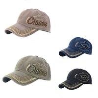 Men Adjustable Baseball Cap Golf Snapback Letter Hip-hop Hat