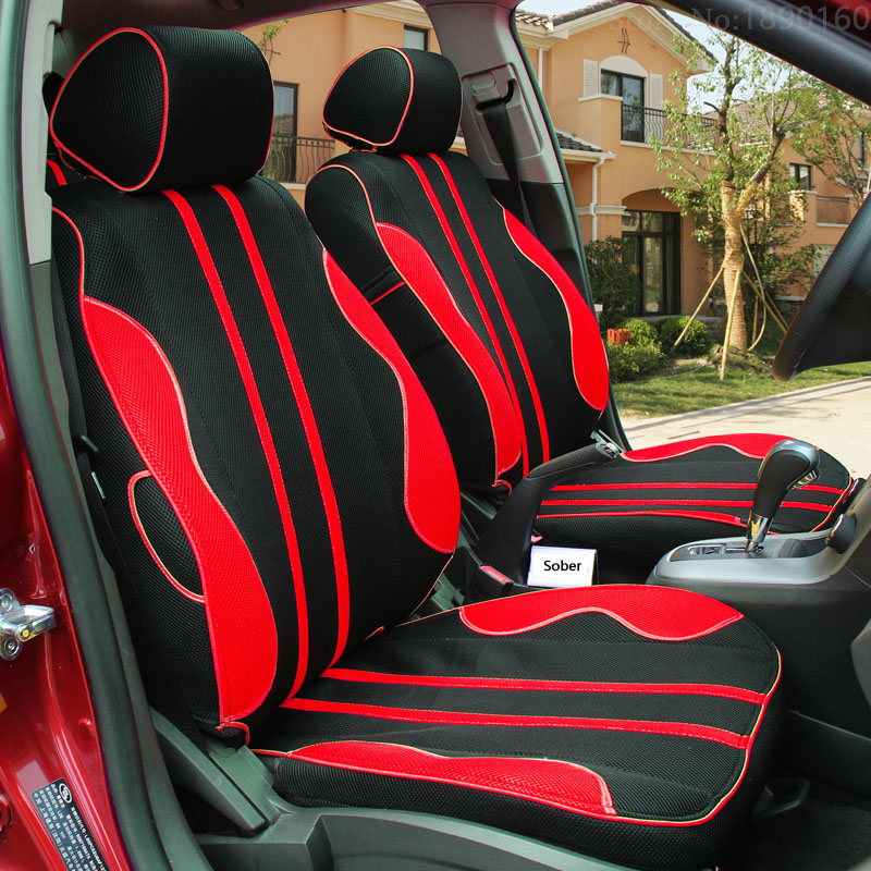 High Quality Breathable Car Seat Covers For Smart Fortwo Forfour Forjeremy Black Beige Gray Red Blue Yellow Accessories In Automobiles From