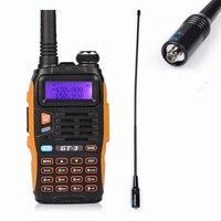GT-3 Mark II Radiotelefony BaoFeng Walkie Talkie, Dwuzakresowy UHF/VHF 136-174/400-520 MHz z Ładowarka Samochodowa/NA-771 Antena Nagoya