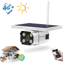 Outdoor 4G Solar Battery Powered Security IP Camemra 1080P Low Power Consumption IP67 AI Artificial Intelligence CCTV Camera