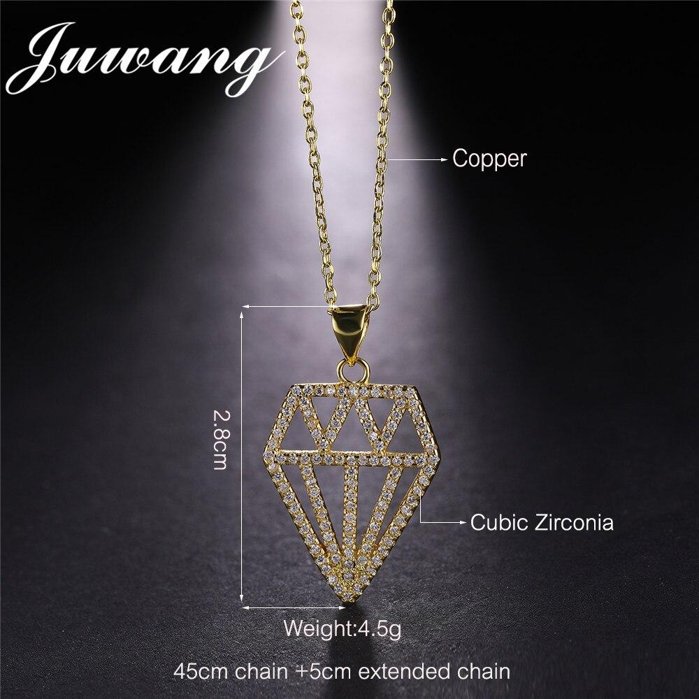 Pendentif colliers or couleur chaîne de luxe bijoux cadeau en gros 3
