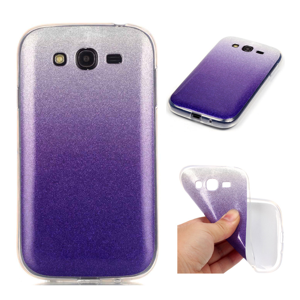 Colorful Bling Glitter Powder Paillette Soft Back Case Covers For Samsung Galaxy Grand Neo Plus I9060 9060 Duos I9082 9082 In Fitted Cases From