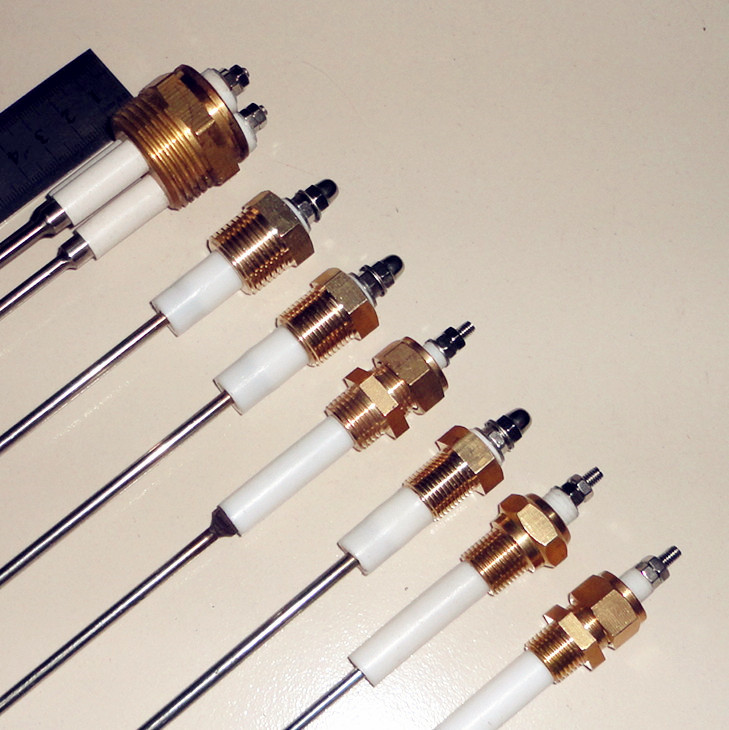 Liquid Level Probe : Boiler water level probe tip electrode rod sensor
