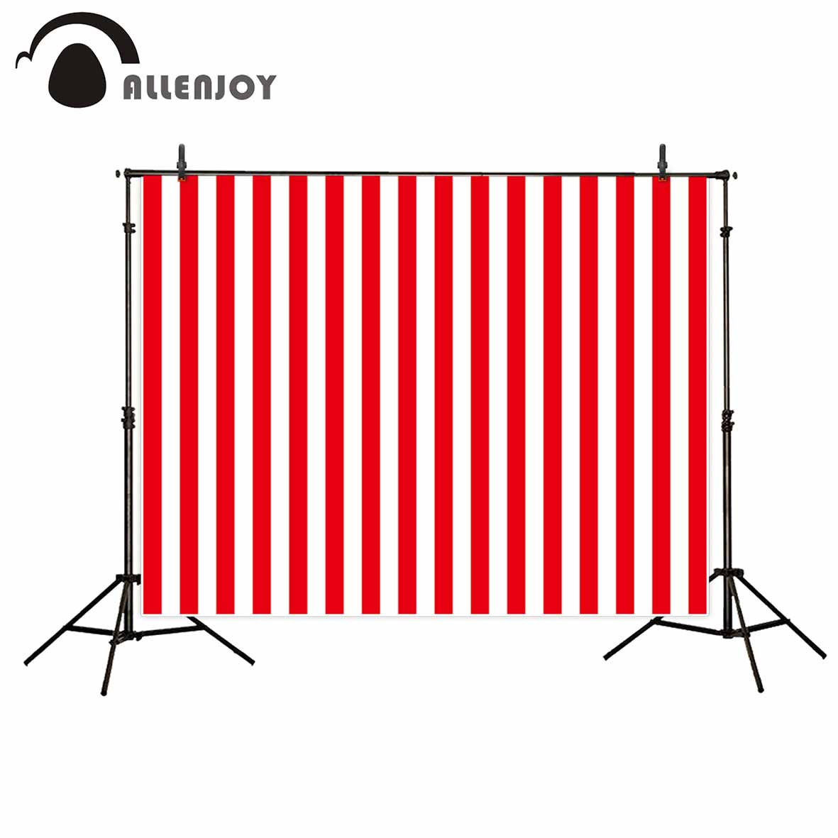 Allenjoy vinyl photographic background Red white stripes sexy passion Photographic background for study Photo background