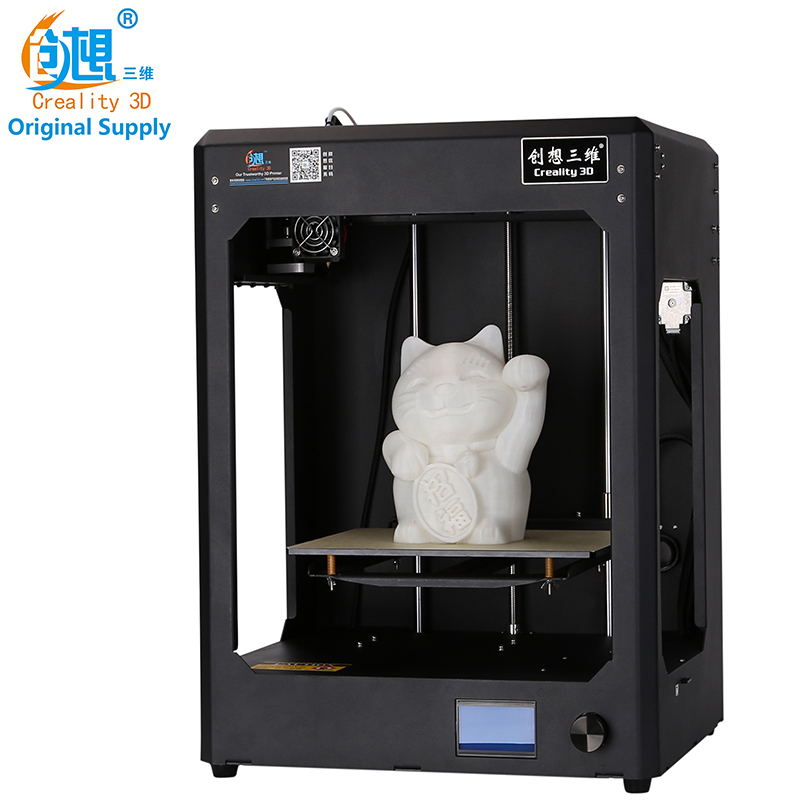 2017 Newesst CREALITY 3D CR 5 Full Assembled 3D Printer Large Printing Size Industrial grade PCB