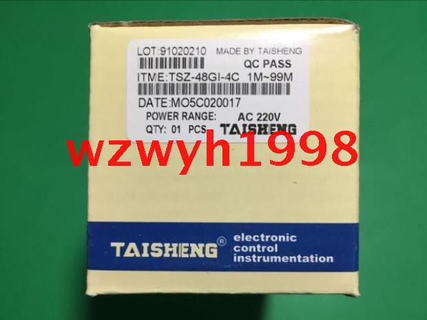 Genuine oven timer TAISHENG TSZ-48GI-4C oven time relay TSZ 48GI 4C genuine taiwan research anv time relay ah2 yb ac220v