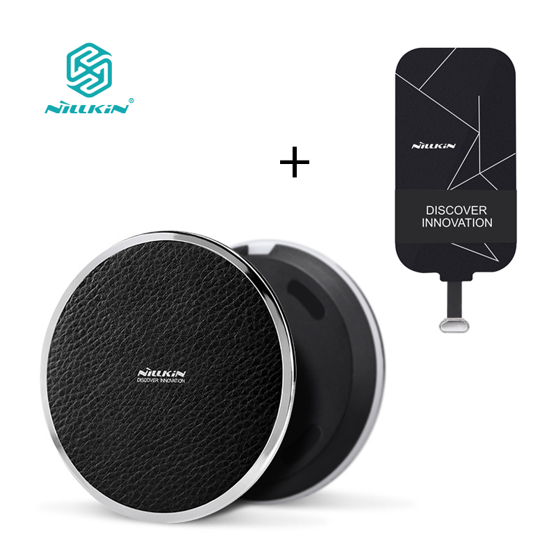 For Samsung For Xiaomi Meizu For Huawei For IPhone NILLKIN Qi Wireless Charger Pad And Receiver