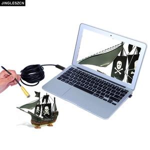 Image 2 - 14.5mm 25M USB กล้อง Endoscope USB กันน้ำ Borescope ตรวจสอบกล้อง Tube SNAKE สำหรับ PC Windows, macBook OS PC