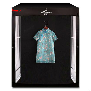 140 cm LED photography studio taobao model cabinet photograph light box children clothing still life softbox CD15 T03