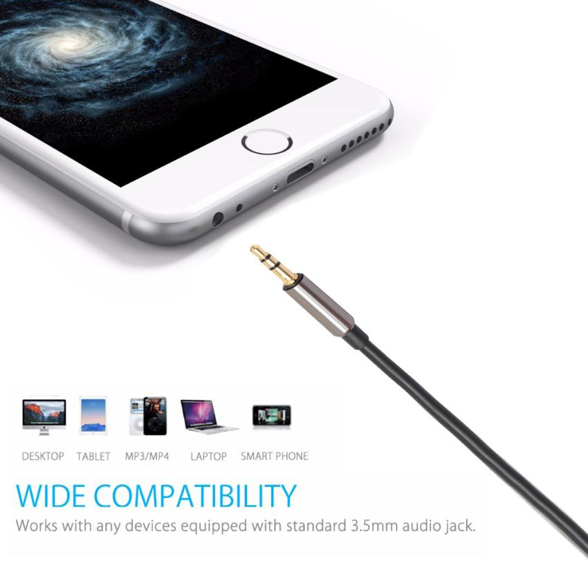 Malloom 2017 1M 2RCA Male to 3.5mm Jack Male Aux Cable Gold Plated Headphone Aux Jack Splitter Video Cable Dropshipping
