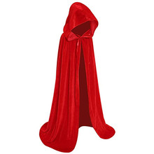 Cosplay Long Hooded Cloak Unisex Halloween Costume + FREE Shipping