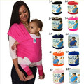 Colorful Baby Carrier Soft Infant Wrap Breathable Infant Sling Hipseat Breastfeed Birth Comfortable Nursing Cover