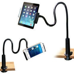 Nowy 360°Rotating Multifuctional Tablet PC/Cell podstawka pod telefon Tablet uchwyt stojak leniwy łóżko biurko uchwyt na iPhone iPad 3B26