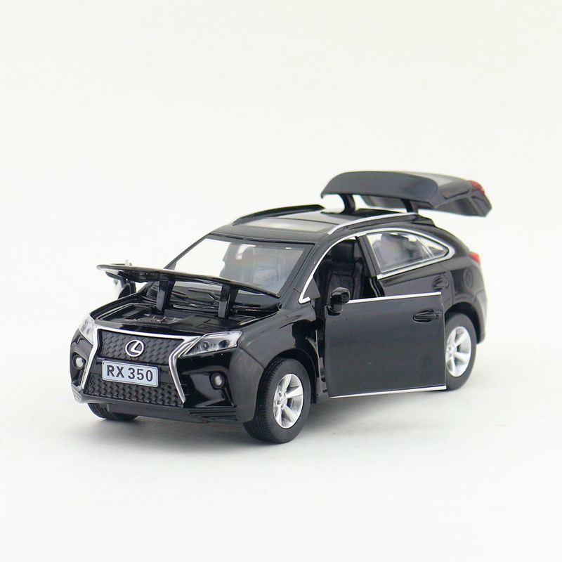 1:32 Scale/Diecast Metal Toy Model/Lexus RX350 SUV/Sound & Light Car/Pull Back Educational Collection/Children/Gift