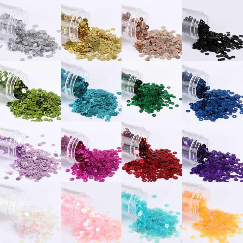 3000 pcs (10g) 3mm Sequin PVC Platte Ronde Losse Pailletten Pailetten Naaien Wedding Craft, dress Caps Schoenen DIY Handgemaakte Accessoires