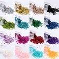 3000 piezas (10g) 3mm lentejuelas de PVC plana redonda suelta lentejuelas de boda artesanía vestido de zapatos DIY hecho a mano Accesorios