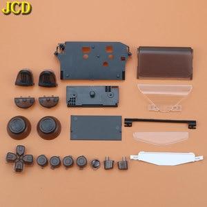 Image 4 - JCD per Sony Dualshock 4 PS4 JDM 001/ 010 / 011 Gamepad Controller trasparente anteriore posteriore custodia custodia Cover e pulsanti Mod Kit