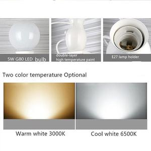 Image 4 - Schlafzimmer Lampe Kreative Moderne LED Wand Lampe Kreative Montiert Eisen Leuchte Paare Wand Lichter Schlafzimmer Korridor Wand Licht Keine Lampe