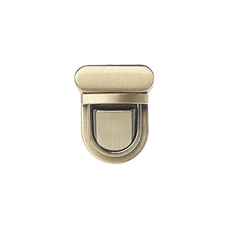 1PC Durable Buckle Twist Lock Hardware For Bag Shape Handbag DIY Turn Lock Bag Clasp twist lock grab bag