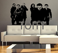 Rammstein Wall Music Sticker German Metal Music Band Vinyl Decal Rock Decor Mural