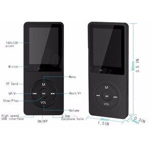 Image 5 - RUIZU X02 Ultrathin Mp3 Player Usb 4GB 8Gb 16GB Storage 1.8 Inch Screen Play 80h High Quality  Radio Fm E Book Music Player